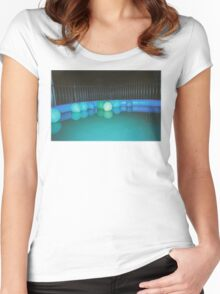 Slap series - poolside Women's Fitted Scoop T-Shirt
