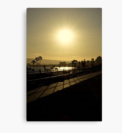 Sunshine and Silhouettes Canvas Print