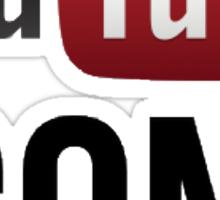 YouTube Icons logo Sticker