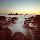 Sunset at Corbiere by Mark Bowden