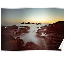 Sunset at Corbiere Poster