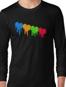 8-Bit Retro Love! Long Sleeve T-Shirt