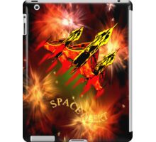 Space Alert a trio of Space Interceptors iPhone/iPad/Samsung cases iPad Case/Skin