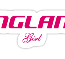 ENGLAND GIRL Sticker