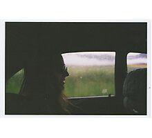 Autumn drives. Photographic Print