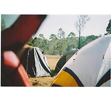 Tent City Photographic Print