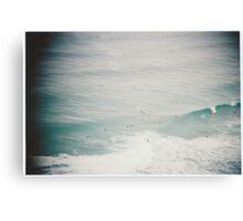 Waves vignette Canvas Print