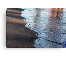 Reflection of a Wave Canvas Print