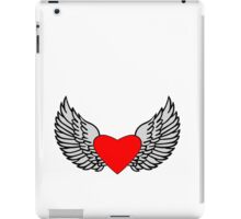 Feathered Wings and Heart iPad Case/Skin