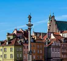 Warsaw Old Town. by FER737NG