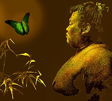 The short-lived life of the butterfly and the sumo wrestler by ganechJoe