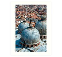 San Marco Basilica, Venice. Art Print