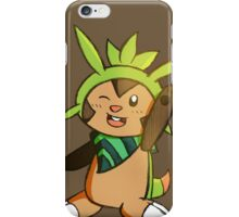 Chespin - PSMD iPhone Case/Skin