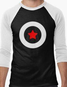 Shield T-Shirt Men's Baseball ¾ T-Shirt