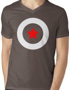 Shield T-Shirt Mens V-Neck T-Shirt