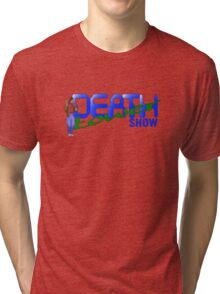 DEATH TOWER SHOW - FLASHBACK THE QUEST FOR IDENTITY Tri-blend T-Shirt