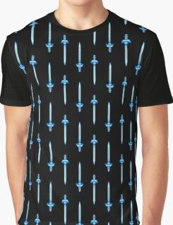 Master Sword pixel - The Legend of Zelda Graphic T-Shirt