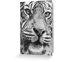 Mr. Tiger Greeting Card