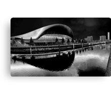 The London Aquatics Centre Canvas Print