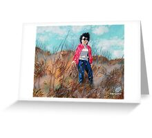 'MOM IN THE DUNES AT NAGSHEAD'  Greeting Card