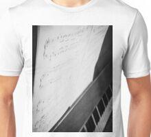 Debussy Sheet Music Unisex T-Shirt