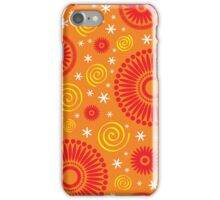 Pop! Orange & Bright Orange iPhone Case/Skin