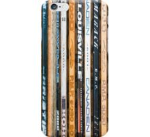 Hockey sticks iPhone Case/Skin