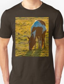 Backlit Horse Unisex T-Shirt