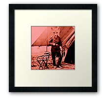 Smart Like a fox Framed Print