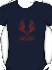 Red Angel Wings T-Shirt