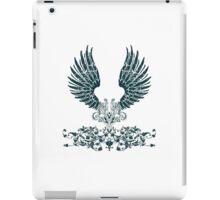 Black Angel Wings iPad Case/Skin
