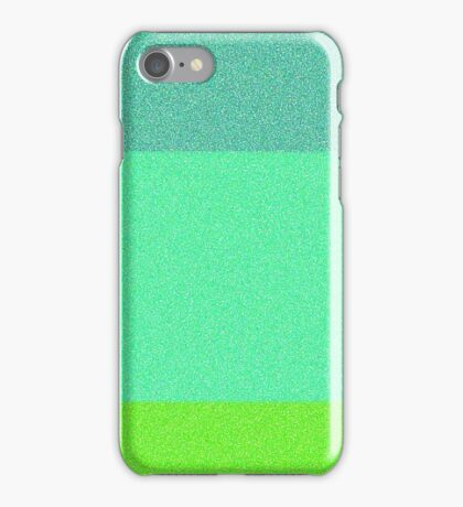 Grassy Glitter iPhone Case/Skin