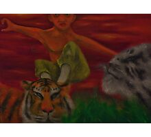 Tiger Style Photographic Print