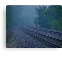Misty Curve Canvas Print
