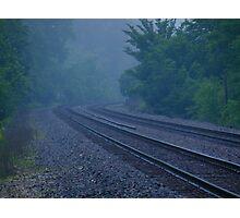 Misty Curve Photographic Print