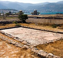 Early Christian Basilica, Crete by Kawka