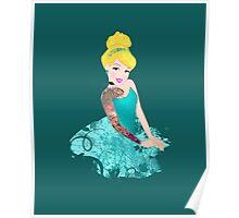 Cinderella- Inked Poster