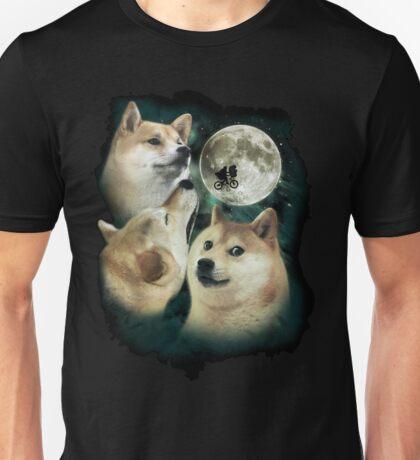 3 Moon Doges Unisex T-Shirt