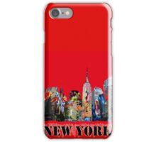 New York City in Graffiti iPhone Case/Skin