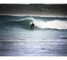 Cornwall Bodyboarding Photographic Print