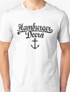 Hamburger Deern Classic Anker (Used Look) Schwarz T-Shirt