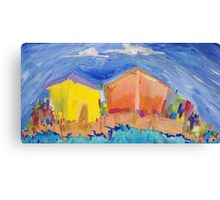 Paradise by the Sea Canvas Print