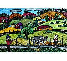 A Naive Appenzellerland, Switzerland Landscape Photographic Print