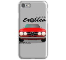 Vintage Erotica, 1750 GTV iPhone Case/Skin