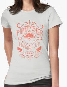 Pokemaster Training Club Womens Fitted T-Shirt