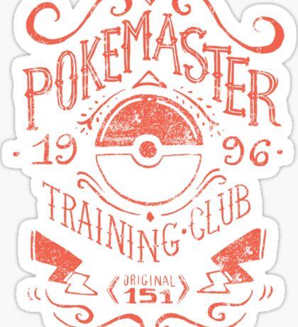 Pokemaster Training Club Sticker