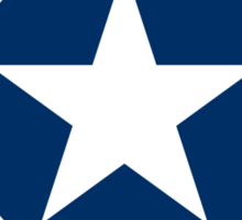 1943-1947 US Air Corps Star Sticker