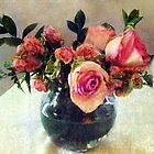Bowl Full of Roses by RC deWinter
