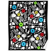abstract music  Poster