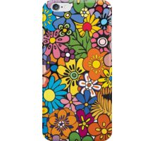 Pop Floral Surf Pattern iPhone Case/Skin